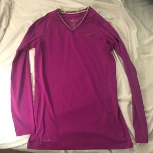 Dry Fit Long sleeve Nike shirt- Small